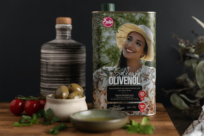 Sallys Olivenöl Nachfüllkanister